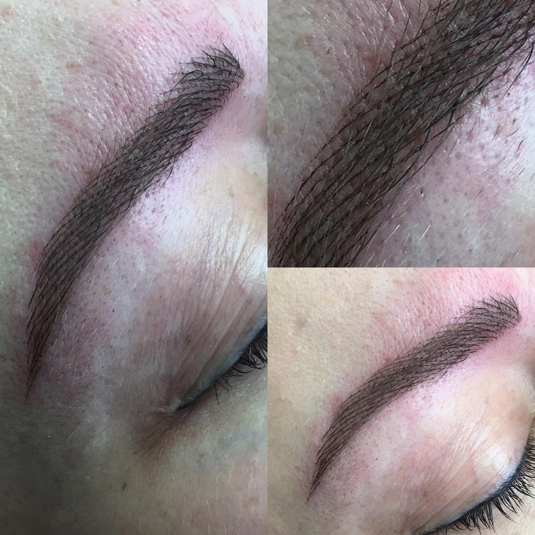 Татуаж, перманентный макияж бровей Санкт-Петербург
