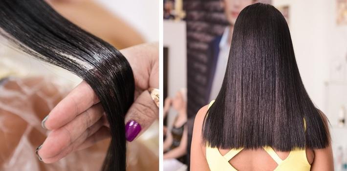 Как сделать полировку волос 937