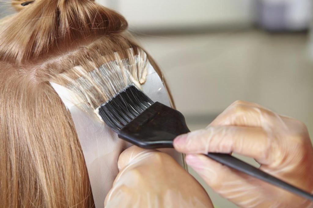 Тонирование волос после мелирования в домашних условиях